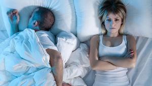 Unettomuus ja unihäiriöt ovat vakava terveyshaitta.