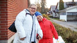 Monica Björkell-Ruhl ja Mikael-poika