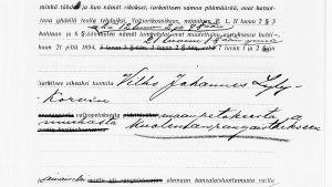 Vilho Lylykorpi dömdes till döden för åtta mord och för stats- och landsförräderi.