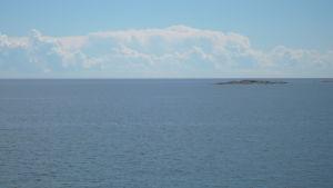 öppet hav och horisont