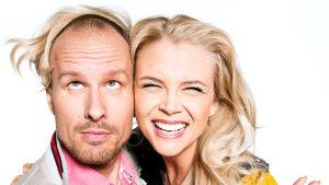 Susanna ja Mikko valmiina uuteen ohjelmakauteen