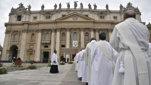 Mässa i Vatikanen.