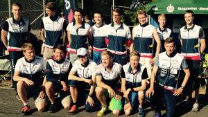 OK Trians första och andra lag i Jukolastafetten i Pemar 2015
