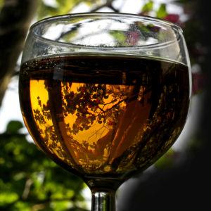 Öl i glas