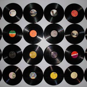 LP-skivor.