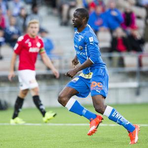 Michael Ibiyomi gjorde sex mål.