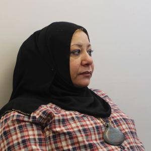 Sawsen är flykting från Irak