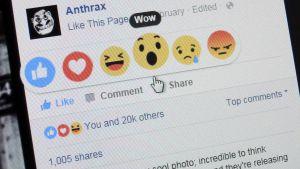 Facebook lanserade nya emojis.
