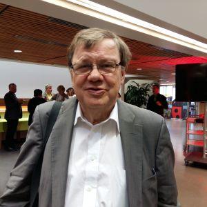 SFP:s tidigare ordförande Christoffer Taxell på partidagen i Åbo 2016