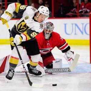 Erik Haula spelar i NHL:s för tillfället bästa lag.