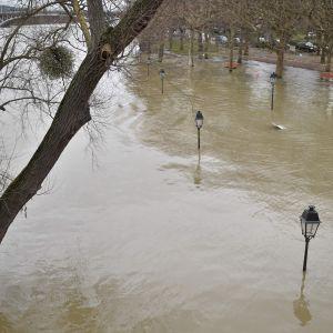 Översvämning i Paris