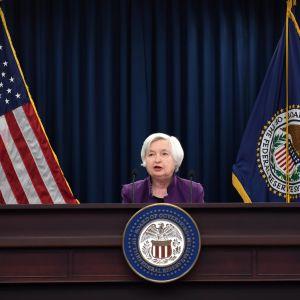 Janet Yellen på USA:s centralbanks presskonferans 14.6.2017