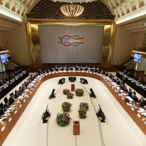 G20 ländernas möte i Baden Baden i Tyskland