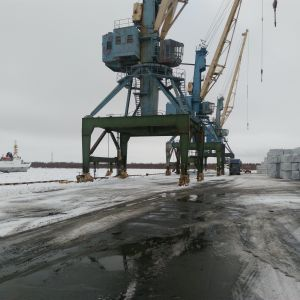 Fisketerminal i Archangelsk.