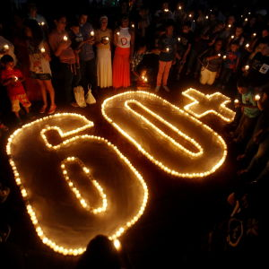 Earth Hour i Cali i Colombia