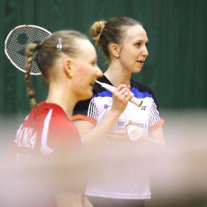Sonja Pekkola och Jenny Nyström.