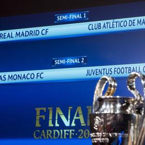 Semifinalparen i Champions League 2016-2017.