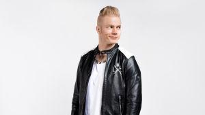 Lauri Yrjölä är en av deltagarna i Tävlingen för ny musik, UMK, 2017.