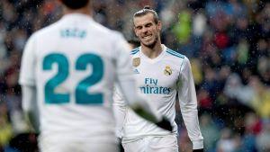 Gareth Bale besviken i Real Madrid.