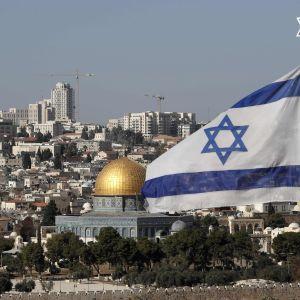 Vy över staden Jerusalem