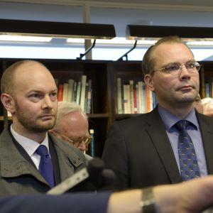 Sampo Terho och Jussi Niinistö