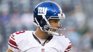 New York Giants kicker Josh Brown.