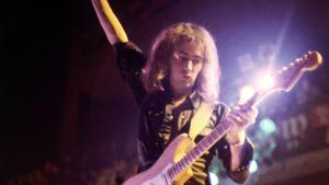 Kitaristi Ritchie Blackmore Deep Purplen Japanin-kiertueella