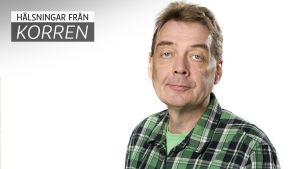 Svenska Yles medarbetare Björn Ådahl.