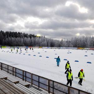 Håkansböle skidstadion i Vanda.