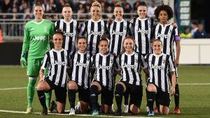 Juventus, ligamästare 2018 också på damsidan.