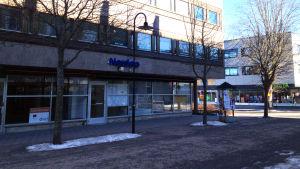 Nordeas kontor på Köpmansgatan i Karis.