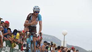 Alexandre Geniez på cykel.