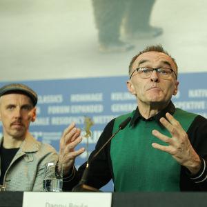 Trainspotting-presskonferens.