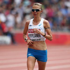 Anne-Mari Hyryläinen, VM 2015.