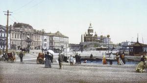 Salutorget i Helsingfors ca 1890.