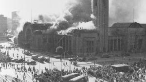 Helsingin aseman palo 1950