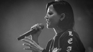 Dolores O'Riordan.The Cranberries konsert på The London Palladium 20.5.2017