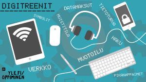 Tabletti, kännykkä ja muita älylaitteita