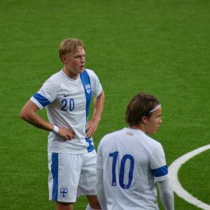 Fredrik Jensen och Simon Skrabb.