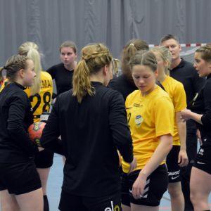 ÅIFK:s handbollsdamer, november 2017.