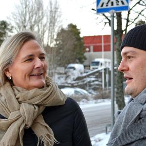 Laila Andersson och Axel Aminoff.