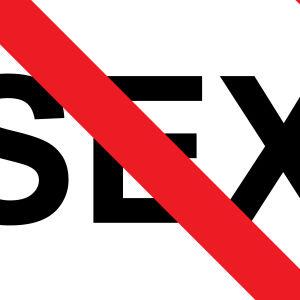 Sex med kryss över