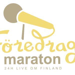 Föredragsmaraton 24 timmar live om Finland