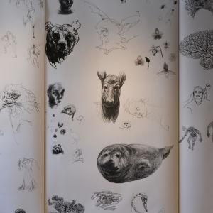 Vappu Rossis tavla i Kulturhuset Grand