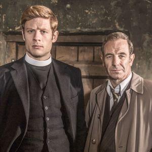 Pastori Sidney Chambers ja rikoskomisario Geordie Keating jatkavat yhteistyötä Grantchester-sarjan uusissa jaksoissa.
