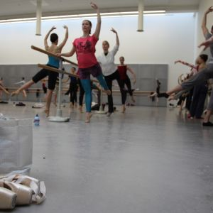 Balettdansösen Sofia Gustafsson