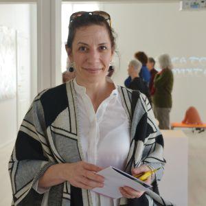 Paola Dadda i Almska Gården i Lovisa
