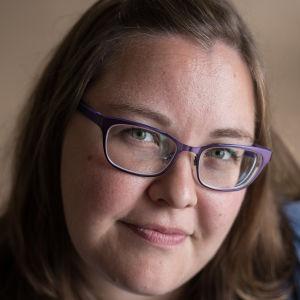 Yle Östnylands reporter Hanna Othman