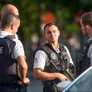 Belgiska polismän.