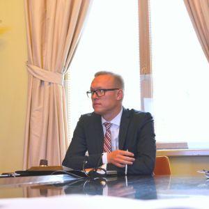 Borgås stadsdirektör Jukka-Pekka Ujula.